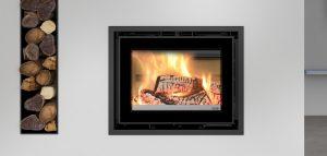 Recuperador de calor a lenha modelo Vista 70 da ADF